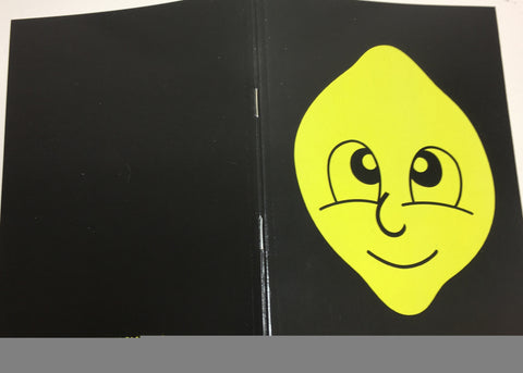 Lemon Clothing Logo (A5 NOTE PAD)
