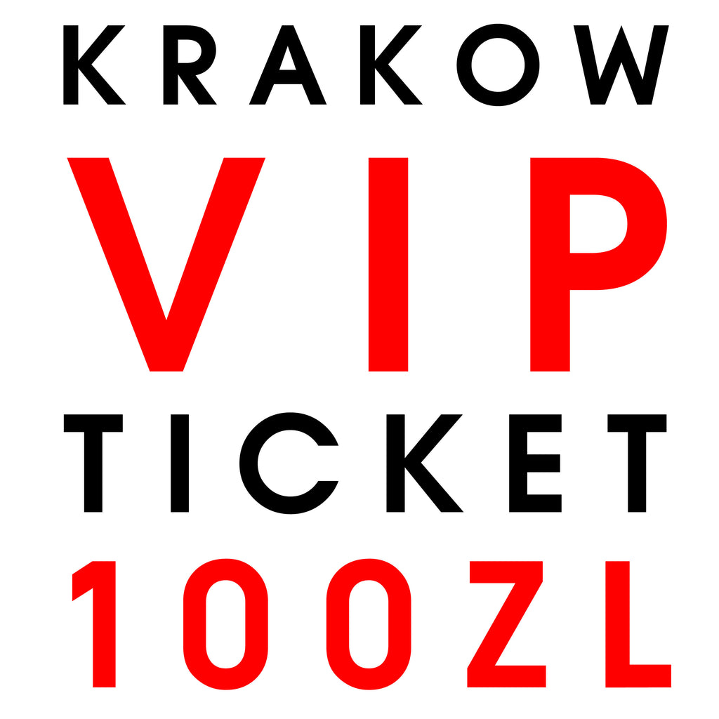Live in Krakow // VIP ONLY!!