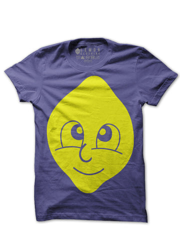 Classic Lemon Head T-shirt (Purple)