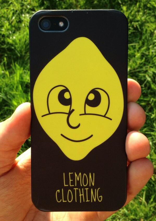 Lemon Clothing - Lemon Head iPhone Cases