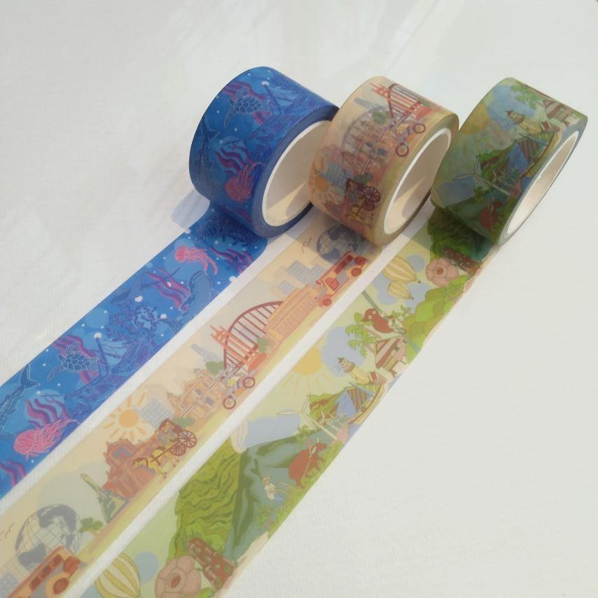 Guide on How to Design for Washi Tapes - The Craft Central