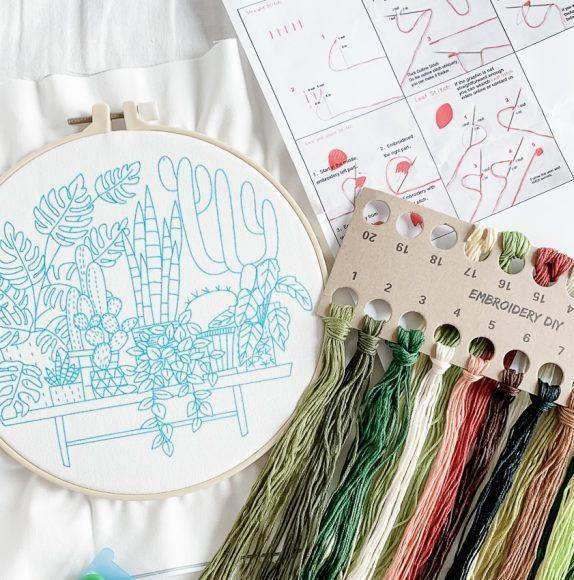How to Get Started with Embroidery - The Craft Central