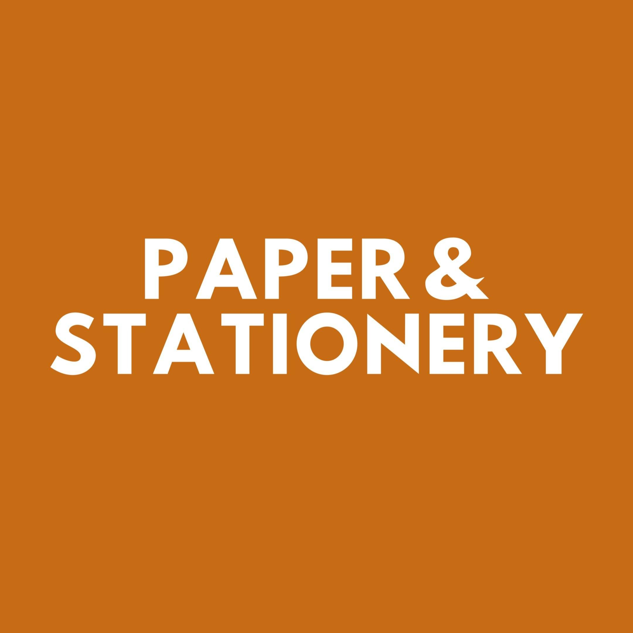 Paper and Stationery - The Craft Central
