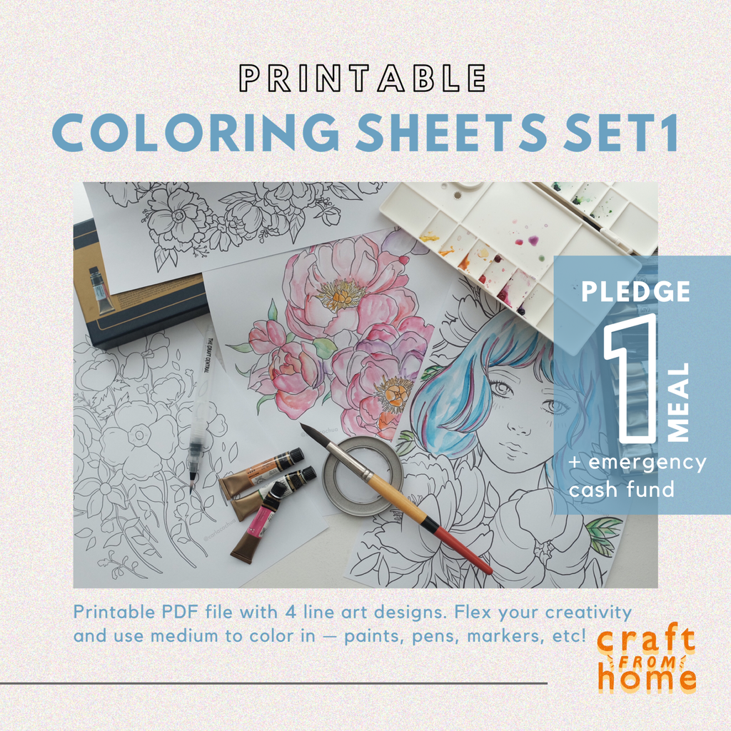 Coloring Sheets Set1 by Carla Co Chua