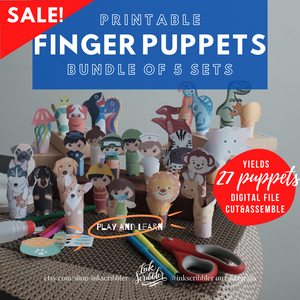 Finger Puppets - 5in1 Bundle