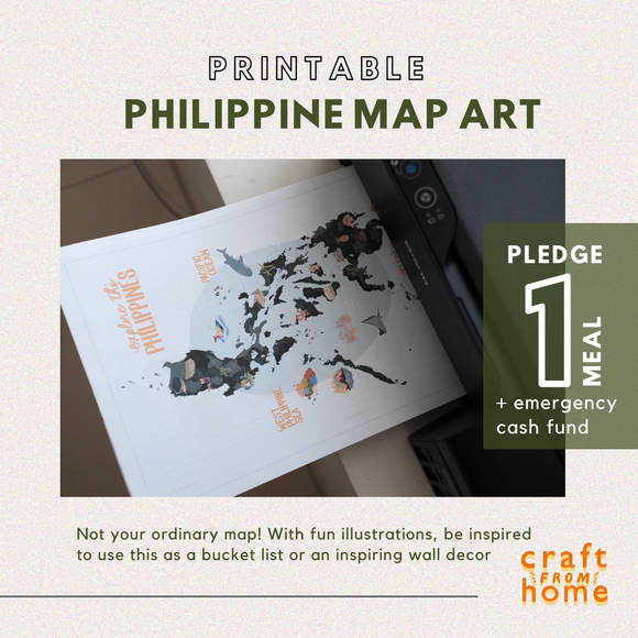Philippine Map Printable A2