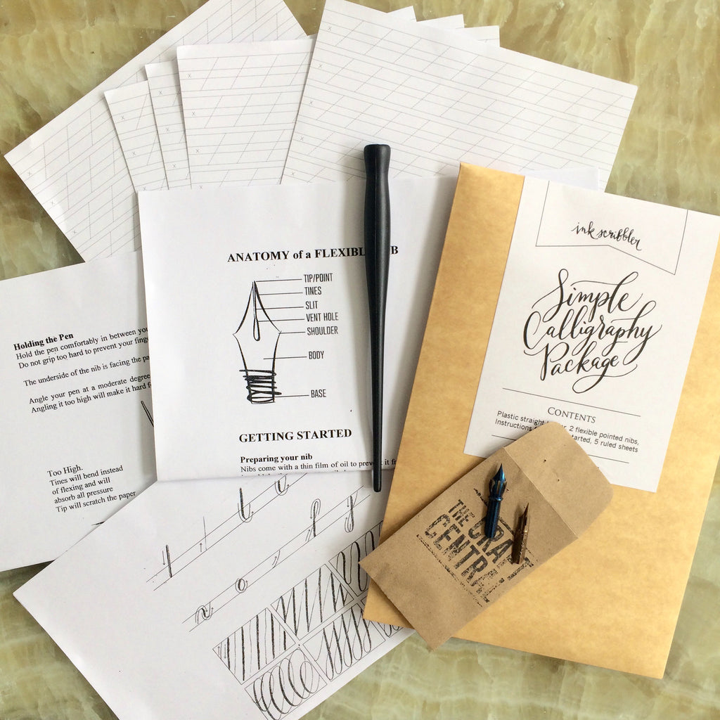 Simple Calligraphy Package