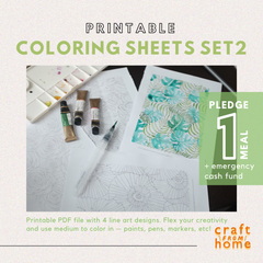 Coloring Sheets Set2: Pattern