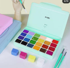 MIYA HIMI Gouache Paint Set of 24
