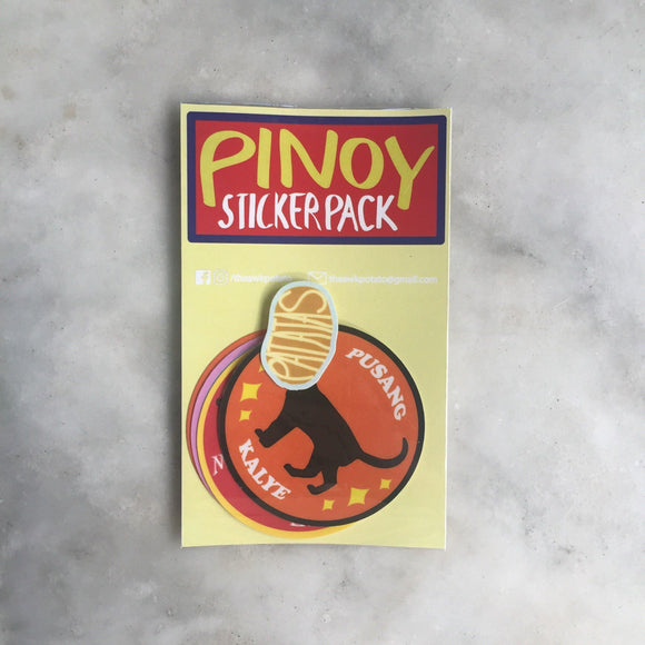 PTA Pinoy Laminate Sticker Pack - The Craft Central