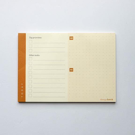 A6 Notepad - Today by Design Hatch