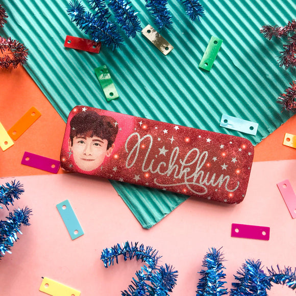 2PMs Nichkhun Rectangle Button Pin