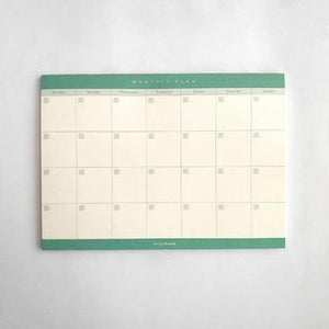 A5 Notepad - Monthly Plan by Design Hatch