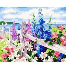 Paint By Numbers Fence G183