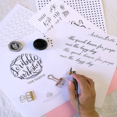 Pointed Pen Calligraphy Workshop @ Vertis North | November 9, 2019 | 11:00-12:00pm