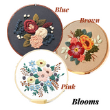 Blooms Embroidery Kit