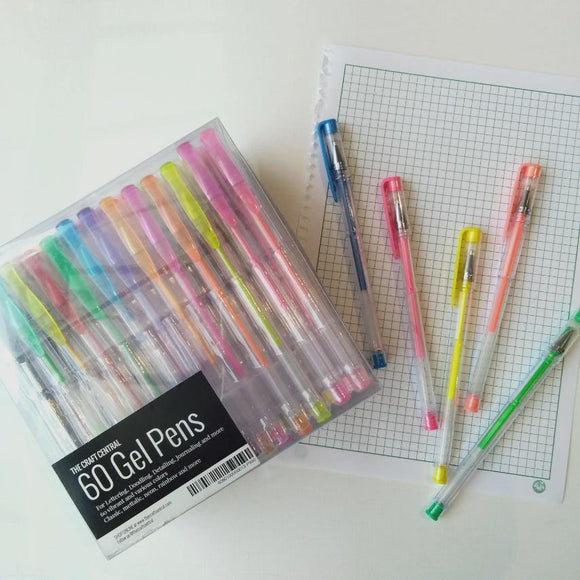 TCC 60 Gel Pens Set