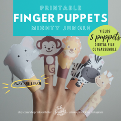 Finger Puppets - The Mighty Jungle