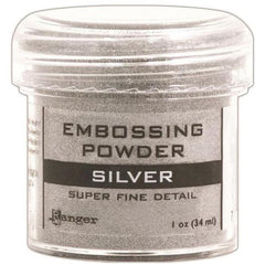 RANGER Embossing Powder Super Fine Detail - Silver