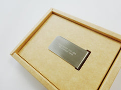 Whatever you are, be a good one - Money Clip