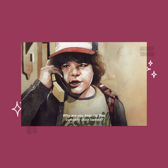 Stranger Things - Dustin Card