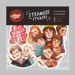 Stranger Things Sticker Set