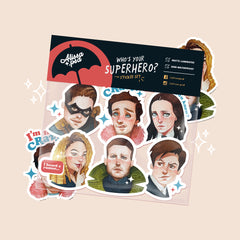 Umbrella Academy Sticker Set