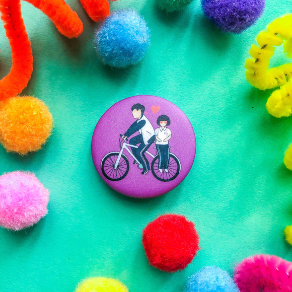A Love so Beautiful Button Pin - The Craft Central