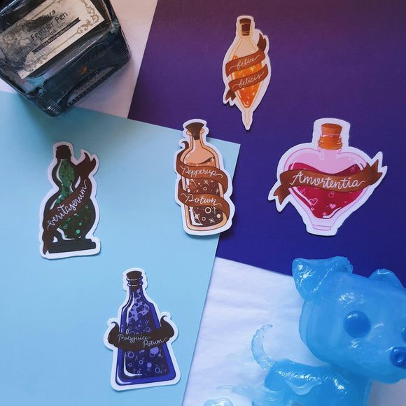 Potions Class Sticker Pack - The Craft Central