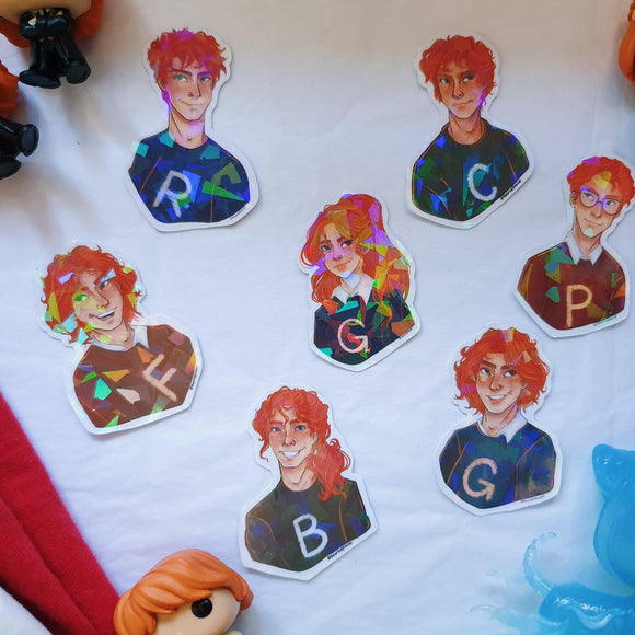 The Weasleys Sticker Pack - The Craft Central