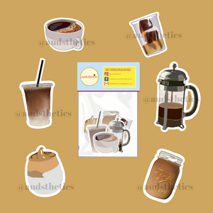 Kape Tayo Sticker - The Craft Central
