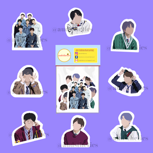 AUD BTS Sticker
