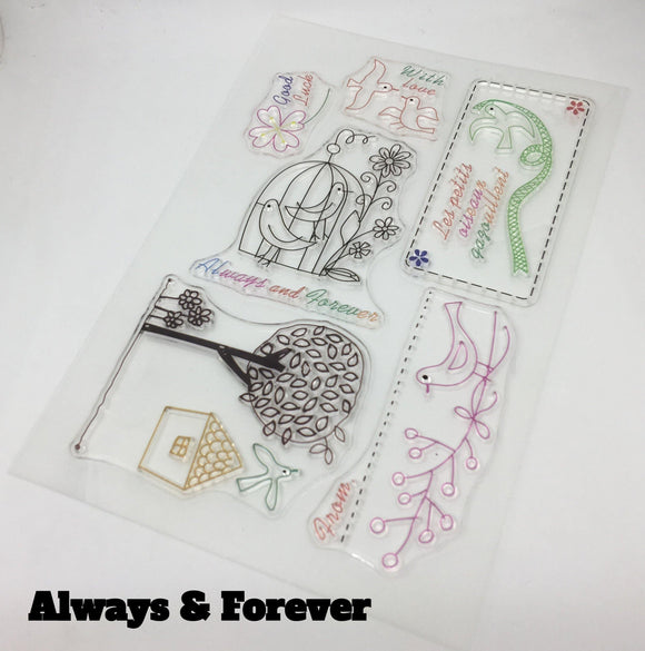 Hammy Creates - Clear Stamps - The Craft Central