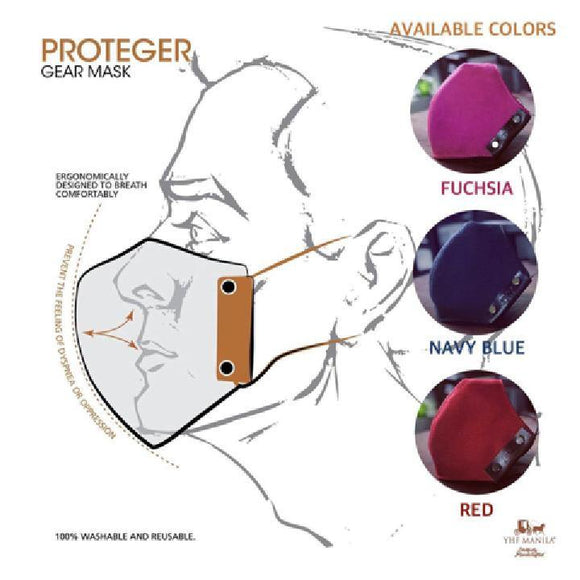 Proteger Gear Mask Facemask