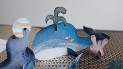 3D Cutouts: Sea Creatures