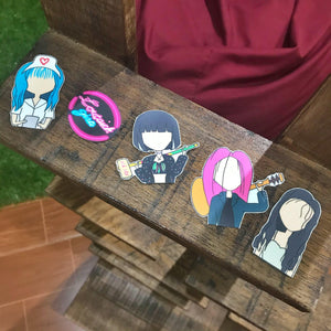SHP Black Pink Lovesick Girls Sticker Pack