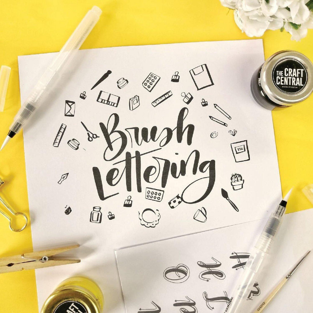 Brush Lettering Workshop @ Vertis North | November 9, 2019 | 1:30pm - 2:30pm