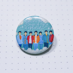 BTS Euphoria Button Pin
