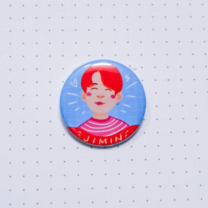 BTS Jimin Button Pin