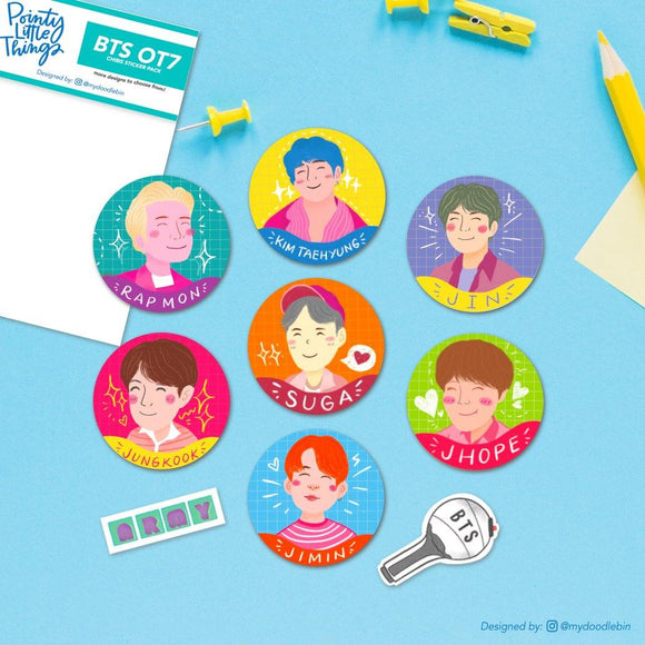 BTS - Boy with Luv Sticker Pack