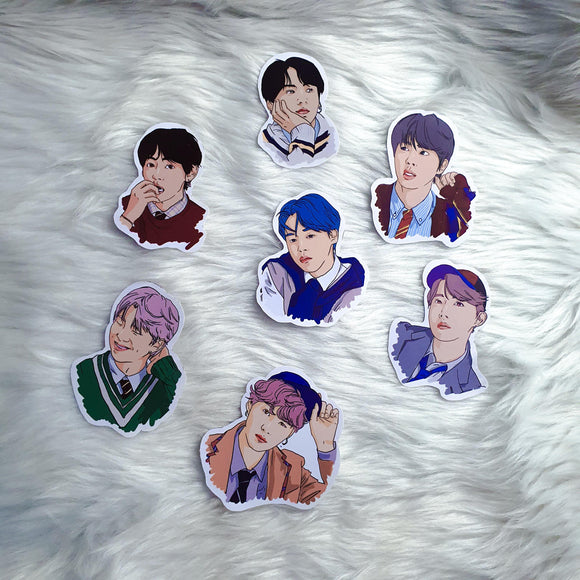 Mamamu K-Pop Sticker Collection