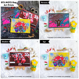 BTS MOTS Rap Art Prints by Klerneps