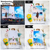 BTS Namjooning Art Prints by Klerneps