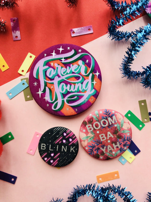 BlackPink Button Pin Set - The Craft Central