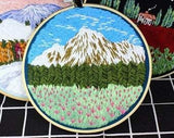 Landscapes Embroidery Kit