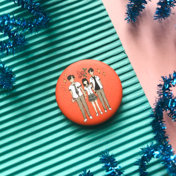 Extraordinary You Button Pin