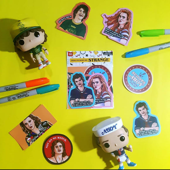 Stranger Things Sticker Pack 2 - Fandom Feels