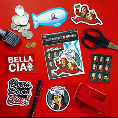 Money Heist Sticker Pack - Fandom Feels