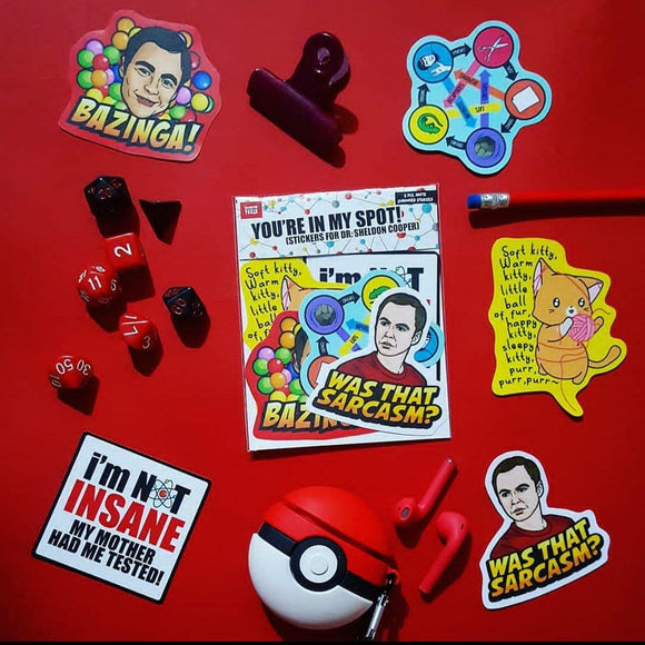 Big Bang Theory Sticker Pack - Fandom Feels