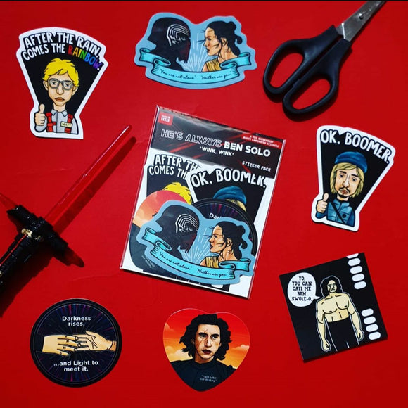 KYLO Sticker Pack - Fandom Feels
